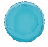 Balão Azul Claro Metalizado 45cm (18