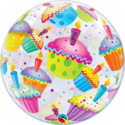 Balão Bubble Cup Cakes