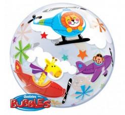 Balão Bubble Flying Circus