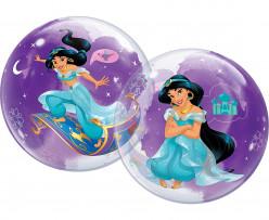 Balão Bubble Jasmine Disney 56cm