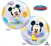 Balão Bubble Mickey Bebé - 56cm