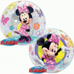 Balão Bubble Minnie Bow-Tique - 56cm