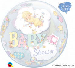 Balão Bubble Precious Moments Baby Shower