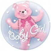 Balão Bubbles Baby Girl