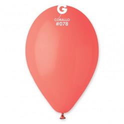 """Balão Coral 12"""" (30cm)"""