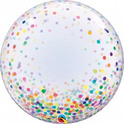 Balão Deco Bubble Confetti Dots
