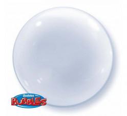 Balão Deco Bubble Transparente 61cm
