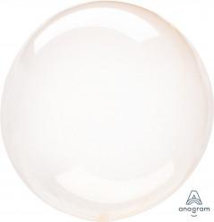 Balão Decorativo Crystal Clearz Laranja 45cm