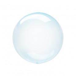 Balão Decorativo Crystal Clearz Petite Azul 25cm