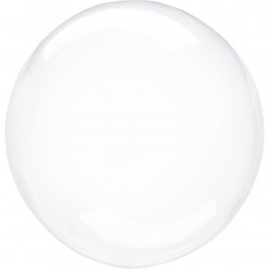 Balão Decorativo Crystal Clearz Transparente 40cm