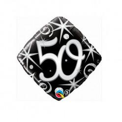 Balão Diamante 50 anos 46cm