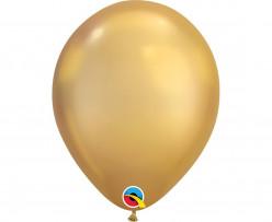 Balão Dourado Chrome 7''