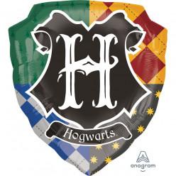 Balão Escudo Hogwarts Harry Potter 68cm