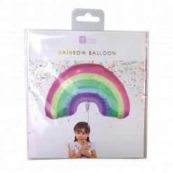 Balão Foil Arco-íris 80cm