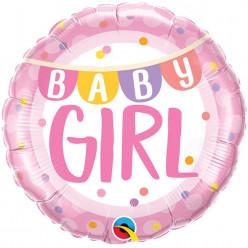 Balão Foil Baby Girl