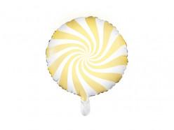 Balão Foil Candy Amarelo 45cm