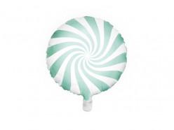 Balão Foil Candy Menta 45cm