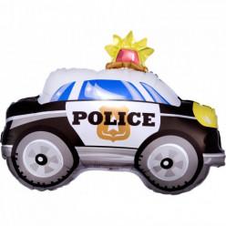 Balão Foil Carro Polícia On The Road Junior Shape 60cm