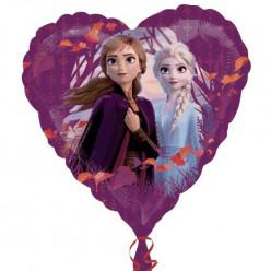 Balão Foil Coração Frozen 2 43cm