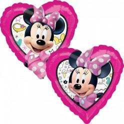 Balão Foil Coração Minnie
