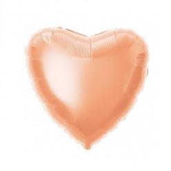 Balão Foil Coração Rose Gold 46cm
