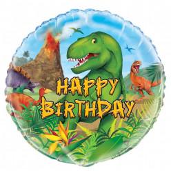 Balão Foil Dinossauros