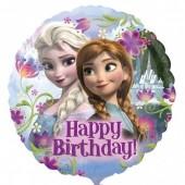 Balão foil Disney Frozen Happy Birthday