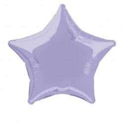Balão Foil Estrela Lavanda 51cm