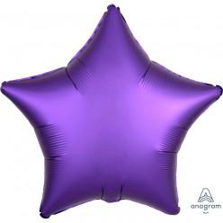 Balão Foil Estrela Púrpura Royal Acetinado 48cm