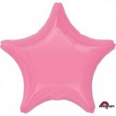 Balão Foil Estrela Rose 48cm