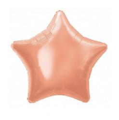 Balão Foil Estrela Rose Gold 51cm