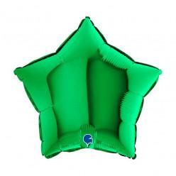 Balão Foil Estrela Verde 46cm