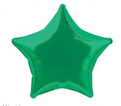 Balão Foil Estrela Verde 51cm
