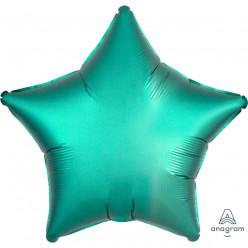 Balão Foil Estrela Verde Jade Acetinado 48cm