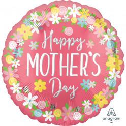 Balão Foil Feliz Dia da Mãe 71cm