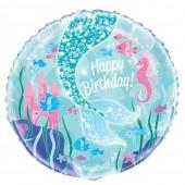 Balão Foil Festa Sereia