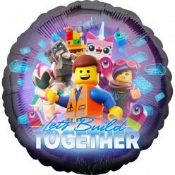 """Balão Foil Lego Movie 2 17"""" 43cm"""