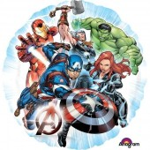 Balão foil Marvel Avengers 43cm