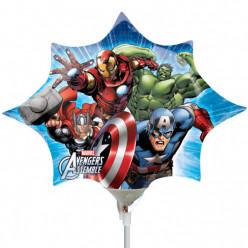 Balão Foil Mini Shape Avengers 28cm