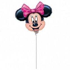 Balão Foil Mini Shape Minnie 23cm