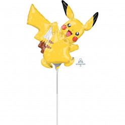 Balão Foil Mini Shape Pikachu Pokémon