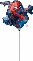 Balão Foil Mini Shape Spiderman 25cm