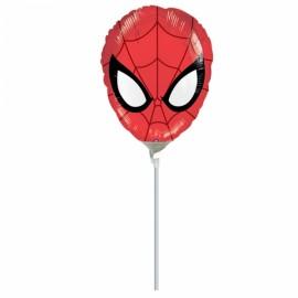 "Balão Foil Mini-Shape Spiderman 9""-23cm"
