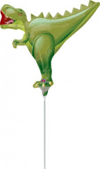 Balão Foil Mini Shape T-Rex Dinossauro