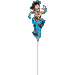 Balão Foil Mini Shape Woody Toy Story
