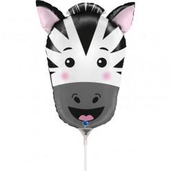 Balão Foil Mini Zebra