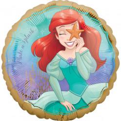Balão Foil Princesas Ariel 43cm