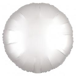 Balão Foil Redondo Branco 43cm