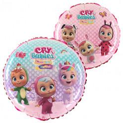 Balão Foil Redondo Cry Babies 46cm