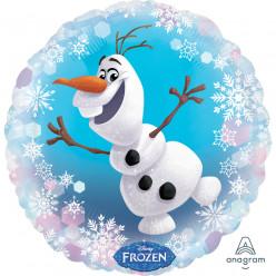 Balão Foil Redondo Olaf Frozen 43cm